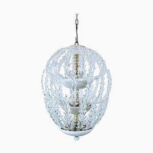 Murano Glass Ceiling Light from Venini, 1940s