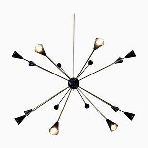 Large Sputnik Ceiling Light, 1960s