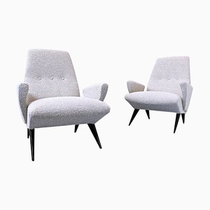 Armchairs by Nino Zoncada for Frimar, Italy, 1950s, Set of 2
