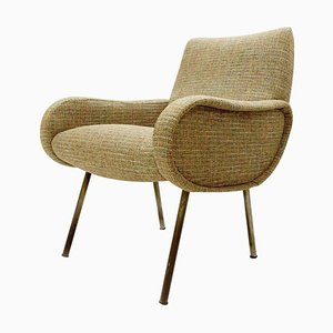 Armchair with Chanel Upholstery by Marco Zanuso, 1951