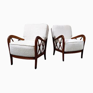 Armchairs in the Style of Paolo Buffa, Set of 2