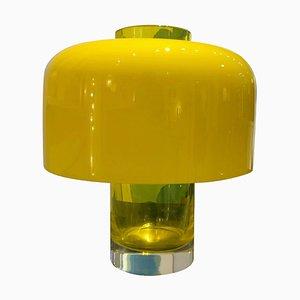 Modell Lt226 Tischlampe und Vase von Carlo Nason für Mazzega, Italien, 1960er