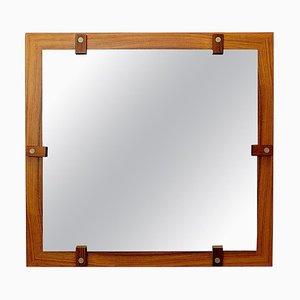 Specchio in legno di George Coslin, Italia