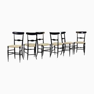 Italian Chiavari Chairs, 1950s