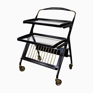 Italian Trolley in the Style of Cesare Lacquer, 1950s