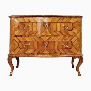 18th-Century German Chest of Drawers in Walnut