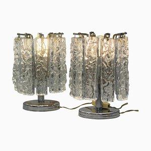 Kleine Tischlampen im Stil von Venini, 1960er, 2er Set