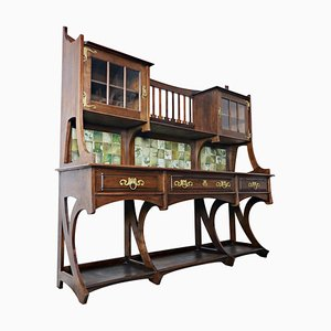 Buffet grande Art Nouveau di Gustave Serrurier-Bovy