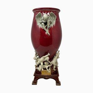 Sauve Qui Peut Vase by Louis Carrier-Belleuse