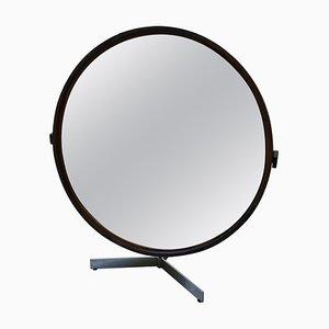 Miroir de Table en Teck par Uno & Östen Kristiansson pour Luxus, 1960s