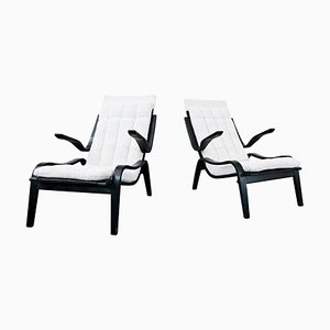 Bentwood Armchairs by Jan Vanek for Up Zavony, 1930s, Set of 2