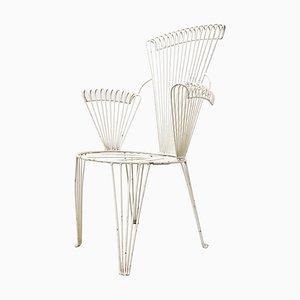 Garden Chair in the Style of Mathieu Matégot, 1950s