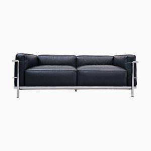 Canapé LC3 Grand Comfort par Le Corbusier pour Cassina