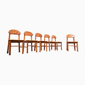 Pitchpin Chairs by Rainer Daumiller, 1970s, Set of 6