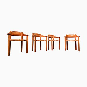 Pitchpin Armchairs by by Rainer Daumiller, 1970s, Set of 4