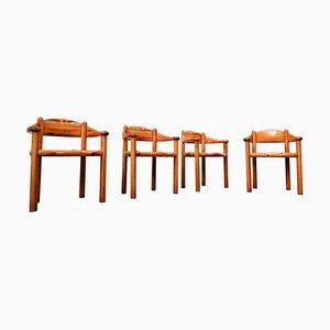 Pitchpin Armlehnstühle von Rainer Daumiller, 1970er, 4er Set