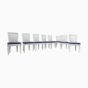 Louis XVI Style Chairs, Set of 8
