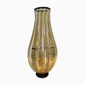Murano Glass Vase by Seguso Viro, 1990s