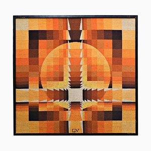 Wandteppich von Georges Vaxelaire, 1970er