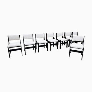 Italian Chairs, 1960s, Set of 8