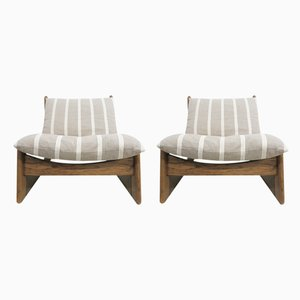 Lounge Chairs by Carl Straub, 1970s, Set of 2