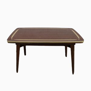 Vintage Rockabilly Height-Adjustable Extending Coffee Table, 1960s