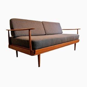 Knoll Antimott Tagesbett aus Teak von Walter Knoll / Wilhelm Knoll, 1960er