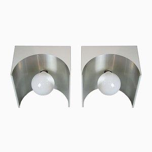 Würfelförmige Tischlampen von Temde, 1960er, 2er Set