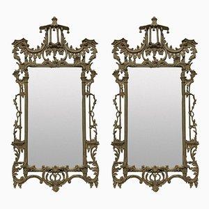 Specchi Revival Chippendale, anni '30, set di 2