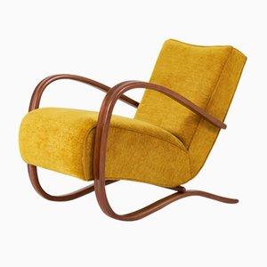 H-269 Lounge Chair by Jindrich Halabala, 1940s