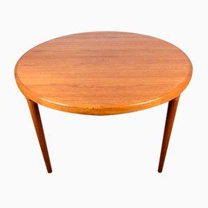 Large Danish Teak Dining Table by Harry Ostergaard for Randers Møbelfabrik, 1960s