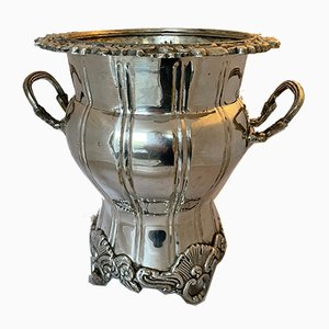 Silver-Plated Champagne Bucket or Wine Cooler from Royal Sheffield