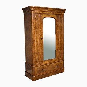 Viktorianischer Kleiderschrank aus Wurzelholz & Nussholz von Maple & Co