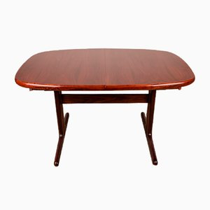 Large Danish Dining Table in Rosewood from Skovby Mobler, 1970s