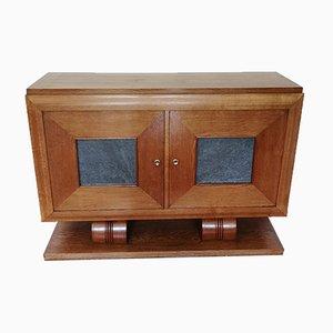 Art Deco Oak Sideboard with 2 Doors