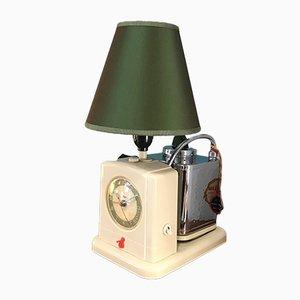 La Goblin Tea & Coffee Machine with Light and Clock, 1950s