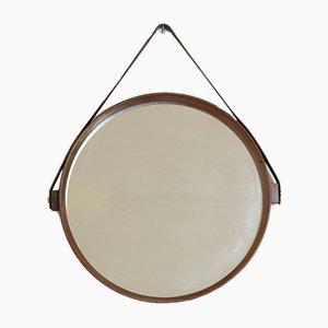 Specchio in teak, anni '60
