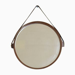 Spiegel aus Teak, 1960er