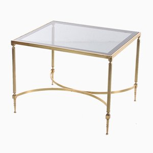 Table d'Appoint Style Hollywood Régence Dorée