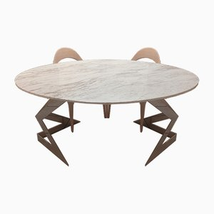 Ivory Diamond Table by Element & Co.