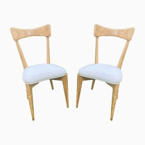 Chairs by Ico Parisi for Ariberto Colombo, 1950s, Set of 2