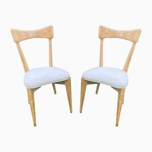 Stühle von Ico Parisi für Ariberto Colombo, 1950er, 2er Set