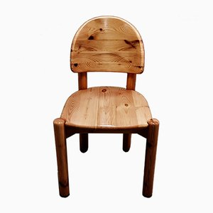 Solid Wood Chair by Rainer Daumiller, 1960s