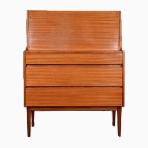 Walnut Secretaire from Heals, 1960s