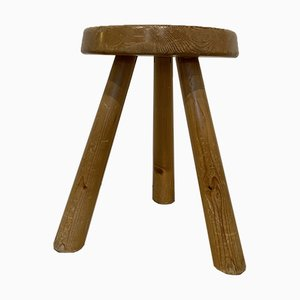 1600 Stool by Charlotte Perriand for Les Arcs, 1969