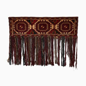 Antiker Kaukasischer Gewebter Tekke Torba Zeltbeutel oder Dekorative Wandverkleidung, 1900