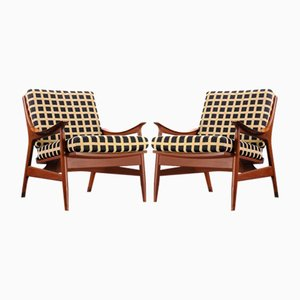 Teak Chairs from Framar, Set of 2