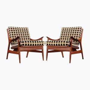 Teak Stühle von Framar, 2er Set