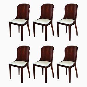 Art Deco Stühle, 6er Set