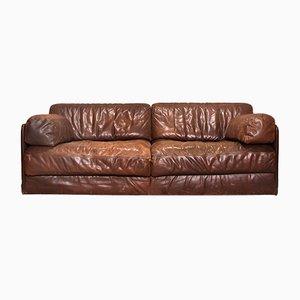 Vintage DS 76 2-Seat Sofa Bed from De Sede, 1970s